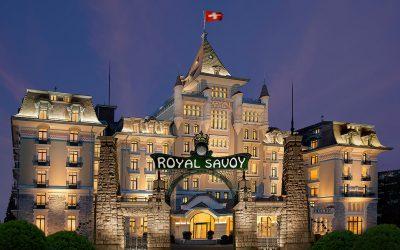 Inauguration de l'hôtel Royal Savoy, Lausanne