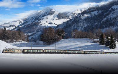 Tour des Alpes vaudoises en train (hiver)
