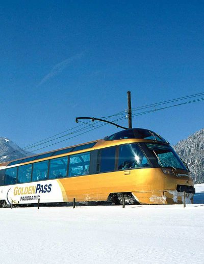Tour des Alpes vaudoises Train