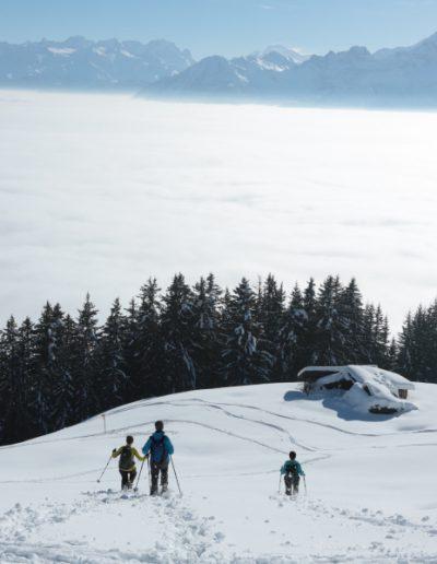 Tour des Alpes vaudoises raquettes